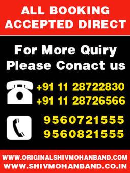 Shiv Mohan Band only at Karol Bagh, Contact Us now   Shiv Mohan band karol bagh   Scoop.it