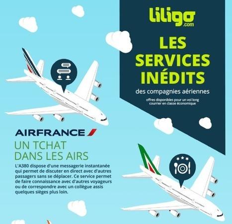 Liligo: Les services inédits des compagnies aériennes   InfoTravel.fr   INFOTRAVEL.FR   Scoop.it