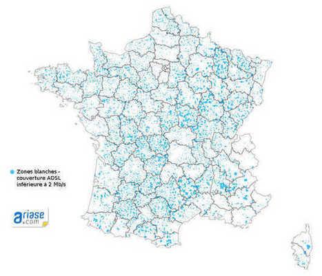 Haut débit : 2e sujet de préoccupation des zones rurales - Ariase.com | Mon Territoire Numérique | Scoop.it