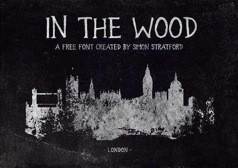 In the wood font an old handmade grungy typeface | My Typefaces | Scoop.it