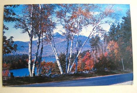 Vintage Color Postcard Picturing Mt Chocorua and Lake White Mountains NH by JNVintage on Zibbet   Vintage Collectibles   Scoop.it