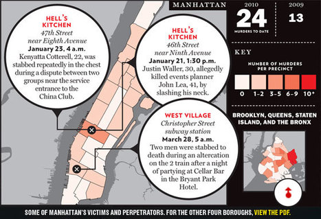 Murder on the Map | New York City Chronicles | Scoop.it