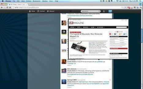 SwiftPreview, extensión para Chrome que ofrece una vista previa de lo que se oculta tras una url acortada | Recull diari | Scoop.it