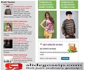 Slidegossip.com Pusatnya Pencarian Profil Artis, Model dan Talent | Margahayuland | Scoop.it