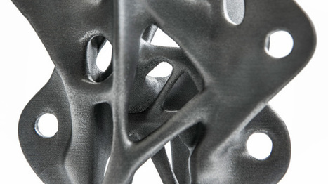 "3D-printed structural components will lead to ""new building shapes"" 