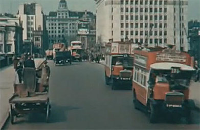 WATCH: Take A Look At 1920s London, In Color - Anglophenia (blog) | 1920's and 1930's | Scoop.it