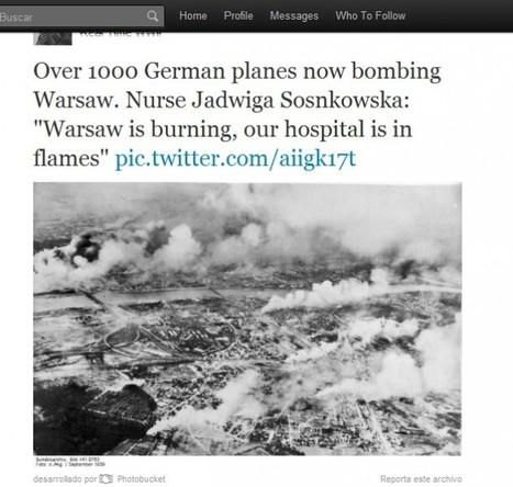 Ideas para aprovechar didácticamente twitter. La Segunda Guerra Mundial a través de Twitter | Escuela y Web 2.0. | Scoop.it
