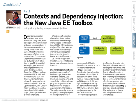 Contexts and Dependency Injection the New Java EE Toolbox | Desarrollo WEB | Scoop.it