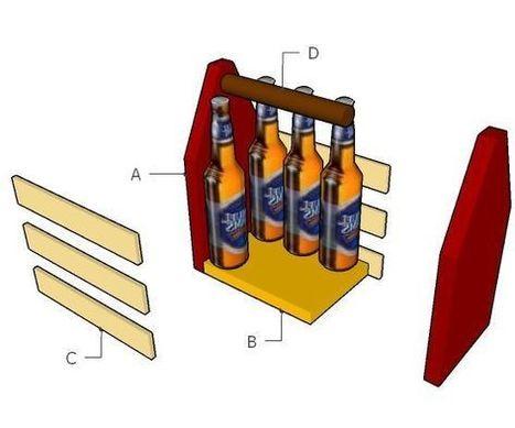 Simple Beer Caddy | Home Repair | Scoop.it