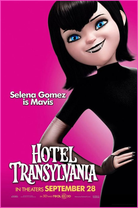 Selena Gomez and Adam Sandler Are Animated Vampires! Will You ... | Vampires | Scoop.it