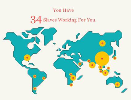 Combien d'esclaves faites-vous travailler ? - Blog Bio, Santé, Beauté   Bio, Santé et Bien-être   Scoop.it