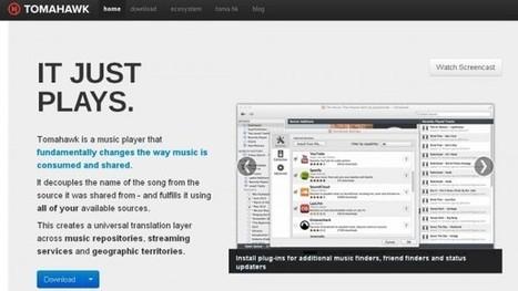 Tomahawk, el reproductor open-source que centraliza toda tu música, se rediseña con nueva versión Web | compaTIC | Scoop.it