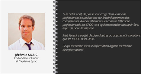 Interview Jérémie Sicsic, co-fondateur Unow et Capitaine Spoc | MOOC Francophone | L'économie des MOOC | Scoop.it