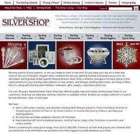 Silvershop.com Antique Sterling Silver - Web Analysis - StatsCrop   Fashionable Artworks   Scoop.it