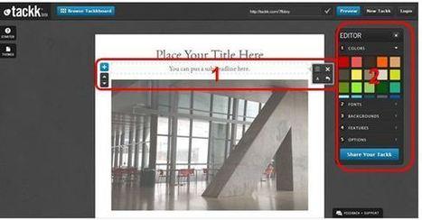 Tackk-eo yo... ¿Tackk-eas tú?: editando contenidos en la nube | Herramientas web 2.0 | Scoop.it