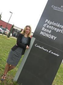 Julia Terrien au chevet des entreprises de la pépinière - la Nouvelle République | ChâtelleraultActu | Scoop.it