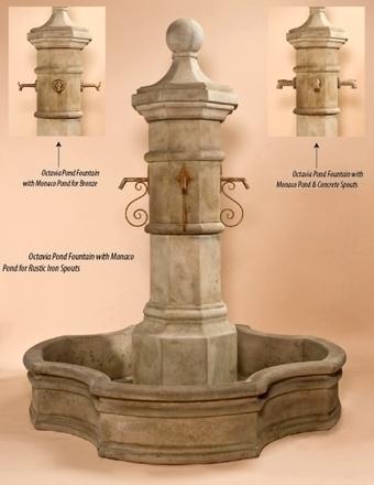 Exalted Fountains | Octavia Monaco Pond Fountain | Garden Fountains Are Wonderful | Scoop.it