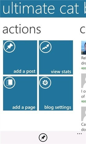 WordPress for Windows Phone updated to version 1.81, promises major updates ... - WMPoweruser.com | WordPress for Business Users | Scoop.it