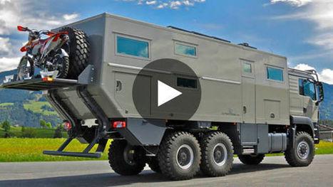 GLOBAL XRS 7200 : le camping-car très luxueux aux allures de tank - Gentside | Camping-Suisse.info | Scoop.it