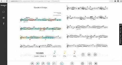 Weezic : la pépite de la partition numérique rachetée par l'américain Makemusic | Veille musique, industrie musicale | Scoop.it