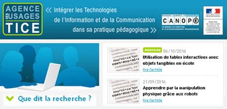 Que dit la recherche ? Utilisation de tables interactives avec objets tangibles en école - Sébastien KUBICKI via @Usages_TICE | TICE et éducation en Corse | Scoop.it