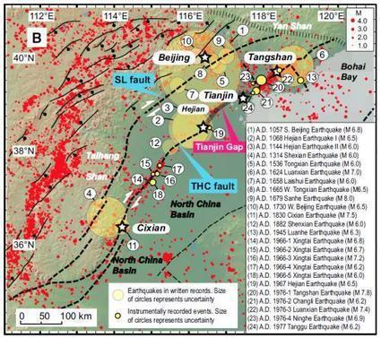 High earthquake danger in Tianjin, China | Sustain Our Earth | Scoop.it