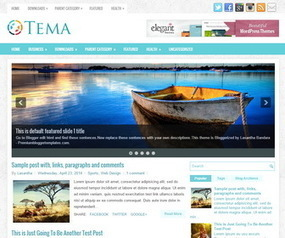 Tema Blogger Template | Blogger Templates | Scoop.it