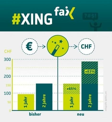 80 Prozent Aufschlag bei Xing Premium: Schweizer protestieren gegen neue Preise | #XINGfail | Scoop.it