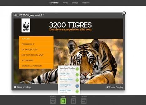 Screenfly : outil pour tester l'affichage multi-devices | Multi-ecrans | Scoop.it
