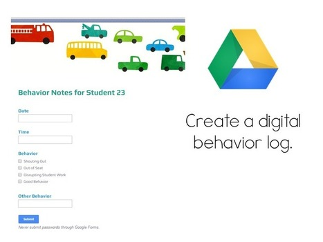 5 Ways to Engage Parents Using Google Drive | Primary School Ideas | Scoop.it