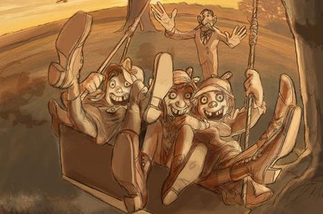 "FIRST IMAGE: Sylvain Chomet's ""Swing Popa Swing"" | Cartoon Brew | JMC Animation & Games | Scoop.it"