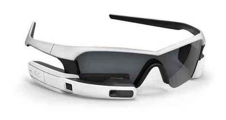 Recon Jet glasses : Intel investit dans les lunettes connectées - GinjFo | wearable computing glass | Scoop.it