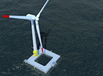Eolien offshore : la fondation flottante en voie d'industrialisation - Enerzine | Veille_énergie éolienne | Scoop.it