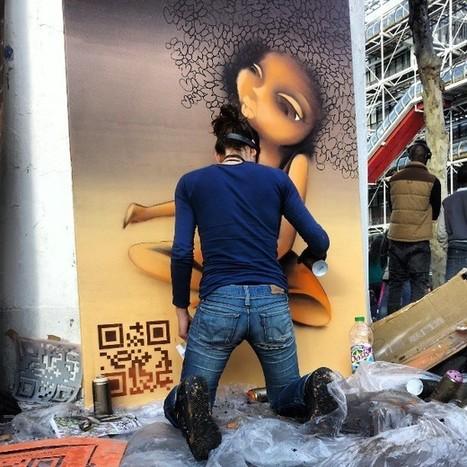 #QRcode le sceau du street artiste | QRdressCode | Scoop.it