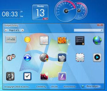 Cool Gadgets Selection for Windows 7   Trends Gadget   Gadget Information   Scoop.it