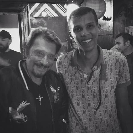 Stromae et Johnny Hallyday, quand deux monstres de scène se rencontrent | CHRONYX.be : on aime le son made in Belgium ! | Scoop.it