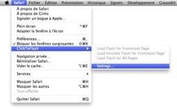 ClickToFlash, un Plugin pour lire les Flash sous Safari | Time to Learn | Scoop.it