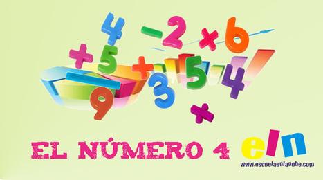 Conoce los números. El número 4 | Bebes y más | Scoop.it