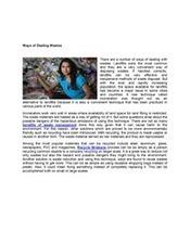 Ways of  Dealing Wastes | Recycle Brisbane | Scoop.it