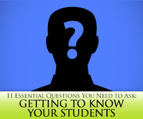 Get to Know Your Students by Asking These 11 Essential Questions | Essential Questions | Scoop.it