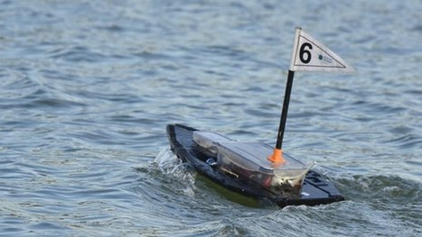 Swarming robot boats demonstrate self-learning | Robots and Robotics | Scoop.it
