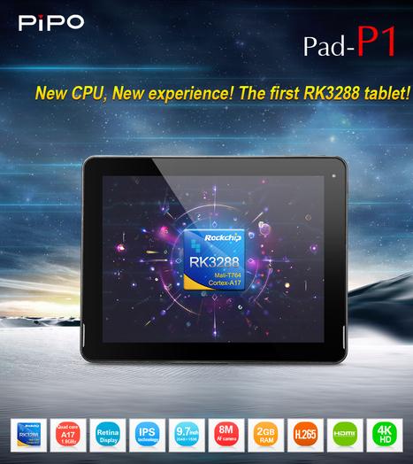 Tablette tactile PIPO P1 - 9.7 pouces | Tablettes tactiles | Scoop.it