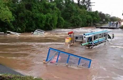 Epic Rains Deluge Florida Panhandle & Parts of Alabama | Climate Central | Sustain Our Earth | Scoop.it