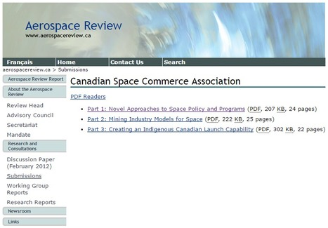 If Marc Boucher wants a Federal Long-Term Space plan, he should write one. | More Commercial Space News | Scoop.it
