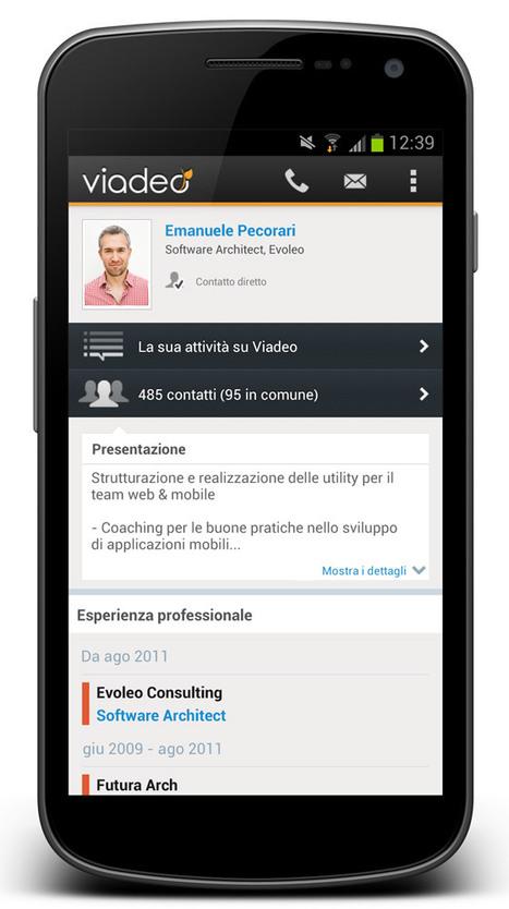 Ecco le nuove applicazioni mobili di Viadeo | InTime - Social Media Magazine | Scoop.it