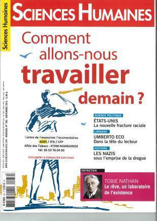 Sciences Humaines n°286 (novembre 2016) | Les revues de la médiathèque | Scoop.it
