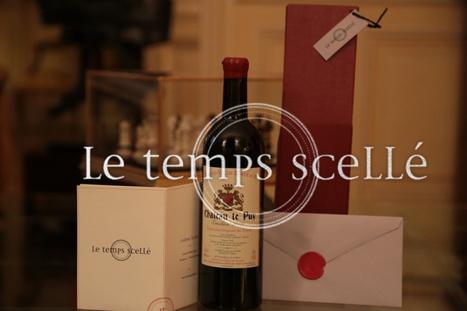 Le Temps Scellé vous envoie du vin gratuitement | Verres de Contact | Scoop.it