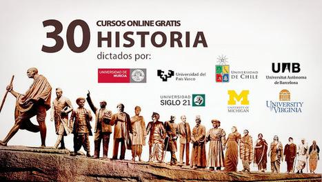 30 cursos universitarios gratis de Historia | Enseñar Geografía e Historia en Secundaria | Scoop.it