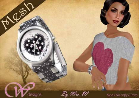 Womanity Luxury Watches 001 by Womanity Designs (Limited Stock) | Teleport Hub | Second Life Freebies | Scoop.it