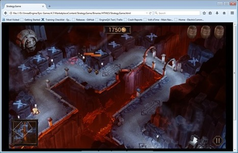 Unreal Engine 4 gets native HTML5 exporting!   JavaScript Libraries for HTML5   Scoop.it
